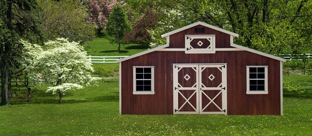 Country Barn by Mid-America Structure